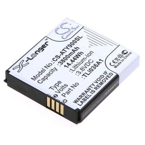 Cameron sino Alcatel one touch link y900 / tli036a1 3800mah 14.44wh li-ion 3.8v () (4894128117698)