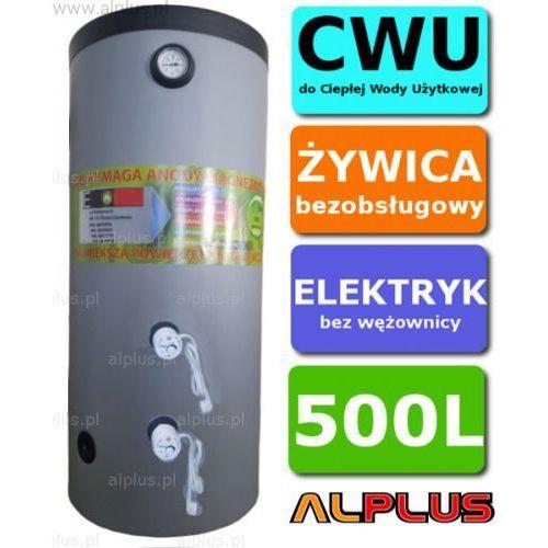 Elektryczny bojler 500L 6kW (2 grzałki po 3kW lub inne do wyboru) Ermet, Ogrzewacz wody pionowy stojący, bezobsługowy, 500 litrów, 167cm x 89cm, Wysyłka gratis, E-500l-PION-ELEK