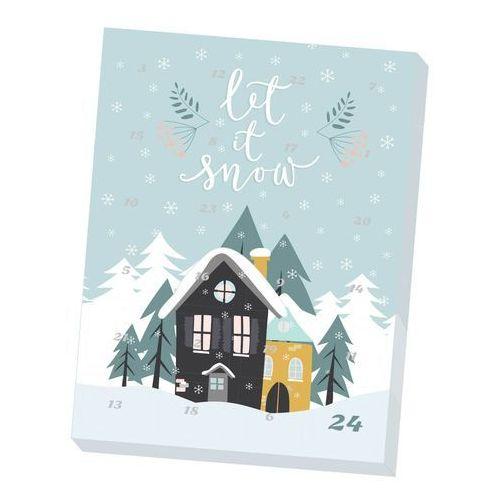 """Cup&you cup and you Kalendarz adwentowy z kawą smakową arabica """"let it snow"""" - 24 wyjątkowe świąteczne smaki"""