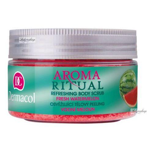 - aroma ritual - refreshing body scrub - fresh watermelon - scrub do ciała o zapachu arbuzowym marki Dermacol