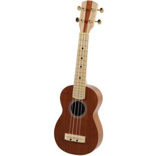 Gewa 512840 ukulele sopranowe lity mahoń