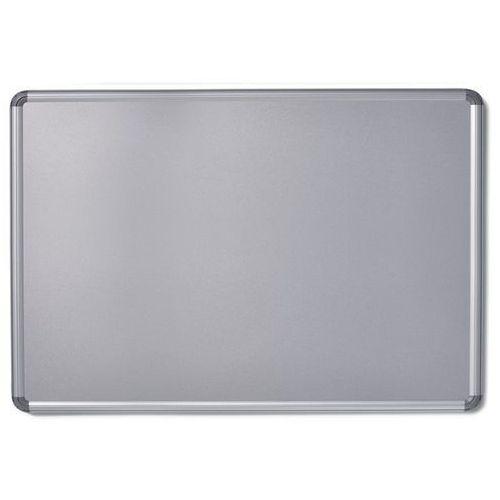 Tablica ścienna design, lakierowanie na kolor srebrny, szer. x wys. 1800x1200 mm marki Office akktiv