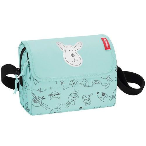 Reisenthel ® torebka na ramię everydaybag kids cats and dogs mint (4012013701627)