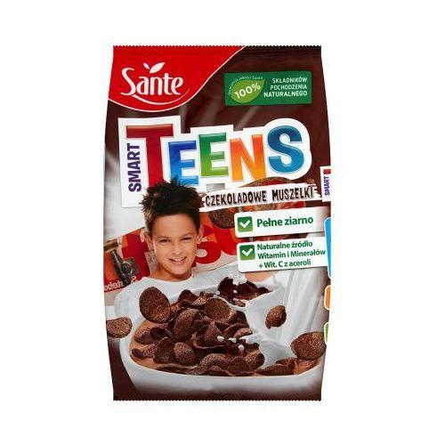 smart teens muszelki czekoladowe 250g promocja 2 w cenie 1 marki Sante
