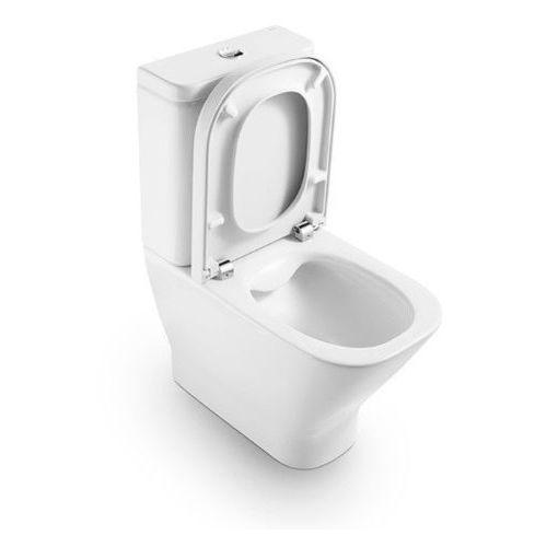 Roca Gap Miska WC do kompaktu Clean Rim (bez kołnierza) A34273700H - sprawdź w wybranym sklepie