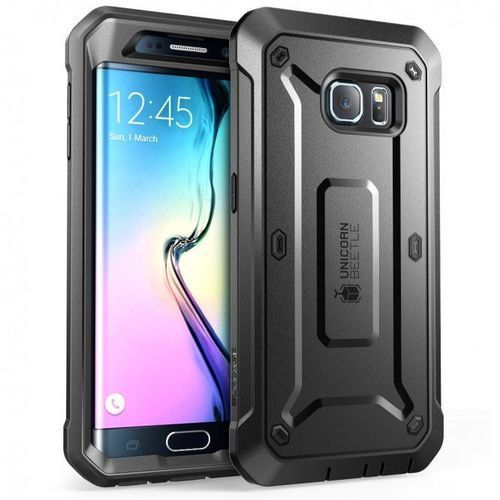 Supcase Unicorn Beetle Pro Black | Obudowa dla modelu Samsung Galaxy S6 Edge - Black