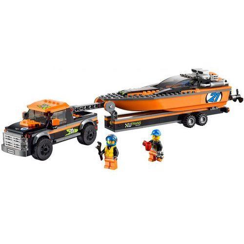 Lego City TERENÓWKA Z MOTORÓWKĄ 60085 z kategorii: klocki dla dzieci