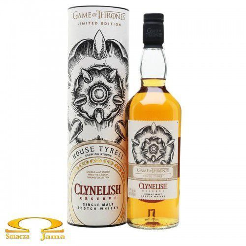 Whisky clynelish reserve house tyrell gra o tron 0,7l marki Classic malts of scotland