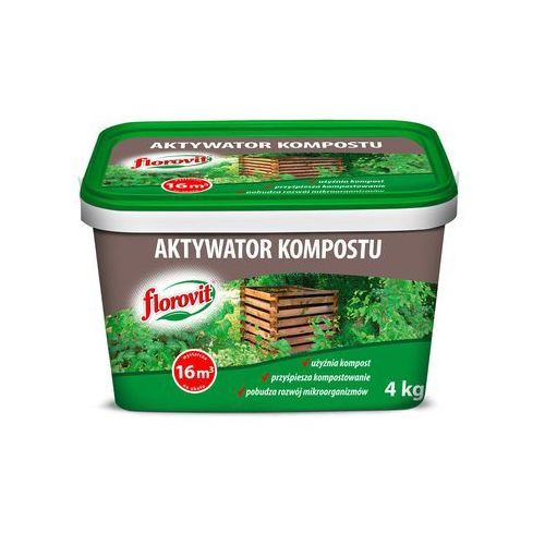 Aktywator kompostu 4 kg FLOROVIT