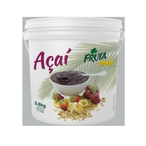 Frutamil comércio de frutas e sucos ltda Sorbet z jagód acai + guarana 3.6 l