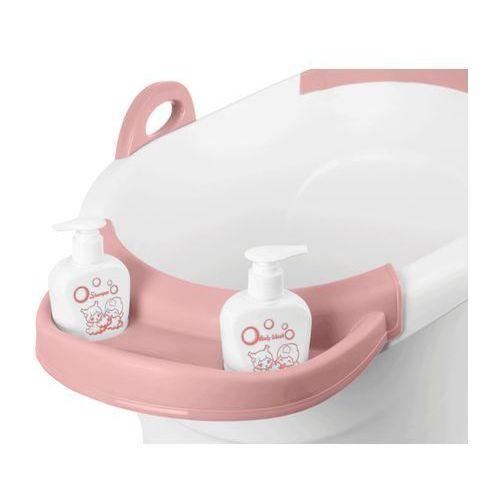 Kindersafe Różowa wanienka do kąpieli wiaderko 55 x 44 cm 6722 - różowy