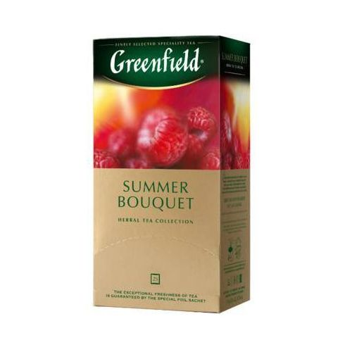25x1,5g summer bouquet herbata owocowa ekspresowa marki Greenfield