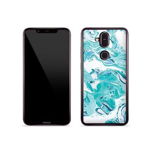 Etuo fantastic case Nokia 8.1 - etui na telefon fantastic case - niebieski marmur