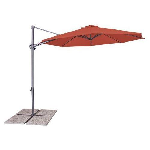 Parasol ogrodowy DERBY by DOPPLER Ravenna Light terracota 432232931 + DARMOWY TRANSPORT! + Zamów z DOSTAWĄ JUTRO!