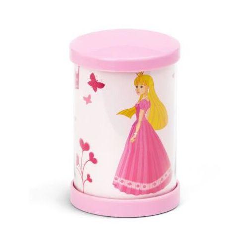 BRILLIANT Lampka na biurko mała Princess, różowa LED - produkt z kategorii- lampki biurkowe
