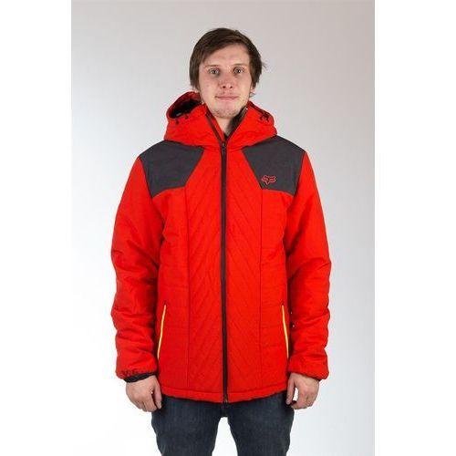 kurtka FOX - Completion Flame Red + NAKRČNÍK ZDARMA (122) rozmiar: M