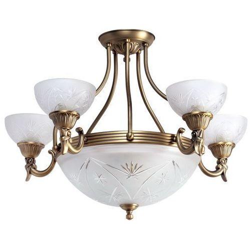 Subtelny, elegancki żyrandol na osiem żarówek classic (317013308) marki Mw-light