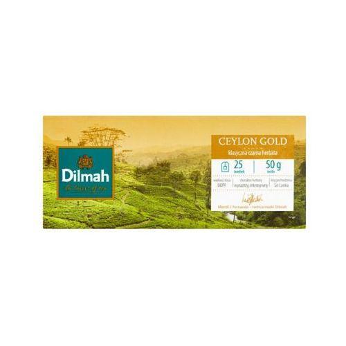 25x2g ceylon gold herbata ekspresowa marki Dilmah
