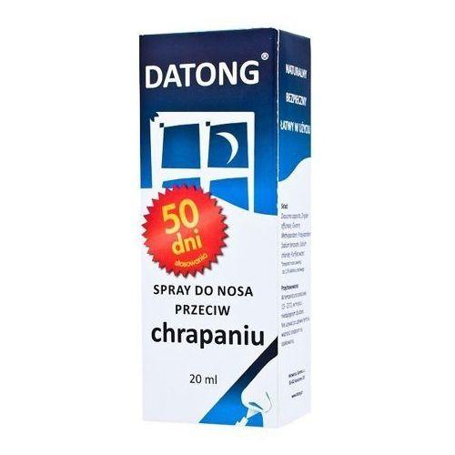 Spray DATONG spray przeciw chrapaniu do nosa 20ml