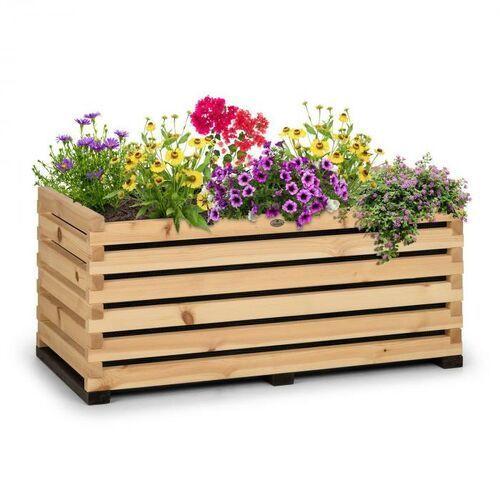 Blumfeldt modu grow 100, grządka podwyższona, 100 x 45 x 50 cm, drewno sosnowe, barwa naturalna (4060656230837)