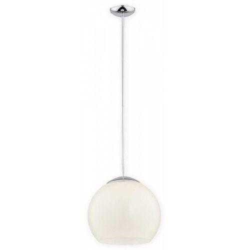 Lemir nolab o2841 w1 ch + kre [m] lampa wisząca zwis 1x60w e27 chrom+kremowy