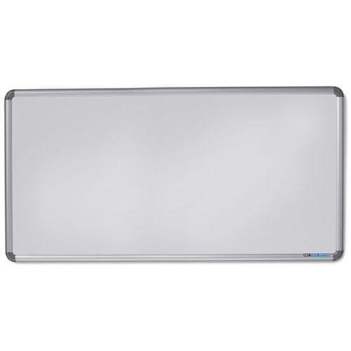 Tablica ścienna Design, lakierowanie na kolor biały, szer. x wys. 2400x1200 mm.