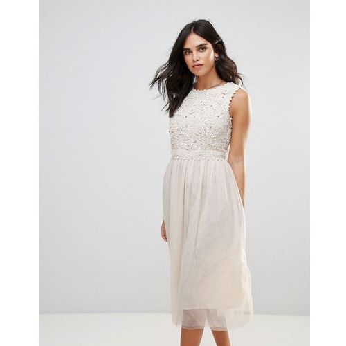 French Connection Lisa Lace Maxi Dress - White