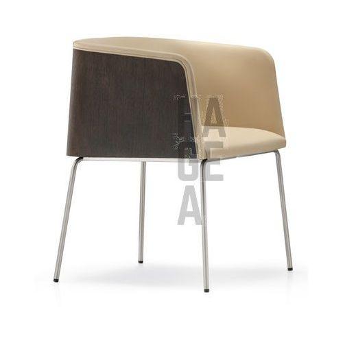 Designerski elegancki fotel do komercji Allure Pedrali ze sklepu HAGEA