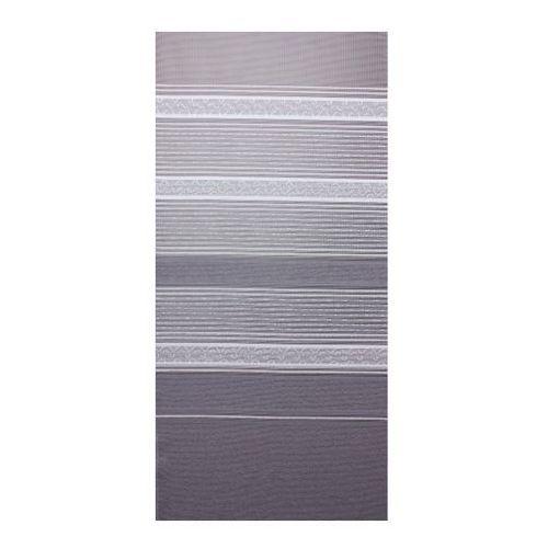 Firana żakardowa Duero 250 cm biało-szara
