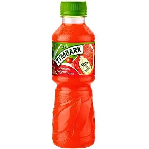 Nektar czerwony grejpfrut 300ml pet marki Tymbark