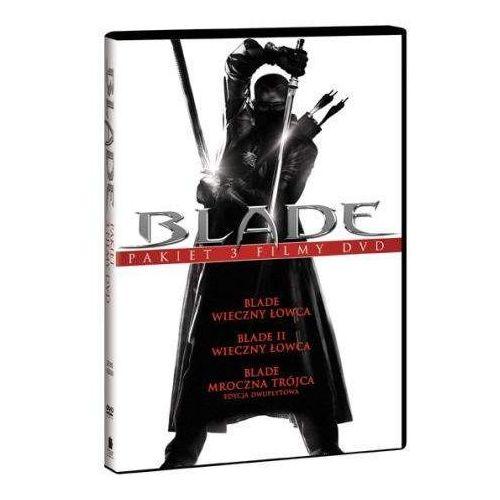Blade Trylogia (3xDVD) - Stephen Norrington DARMOWA DOSTAWA KIOSK RUCHU (7321909322202)
