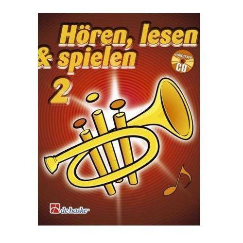 Hören, lesen & spielen, Schule für Trompete, m. Audio-CD. Bd.2 (9789043109130)