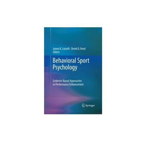 Behavioral Sport Psychology (9781489987914)