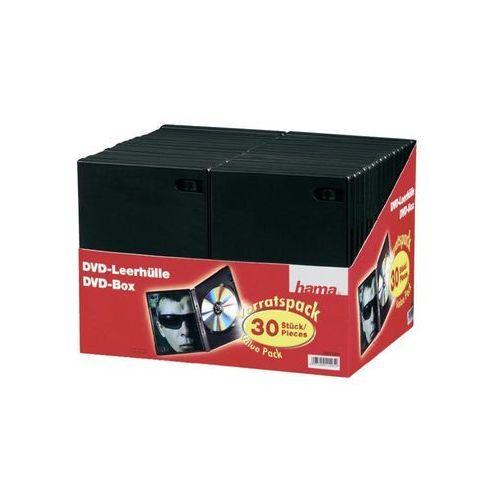 Pudełko na płyty dvd , zestaw 30 szt., czarne, marki Hama