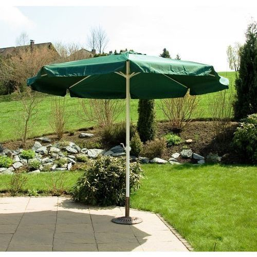 Makstor.pl Zielony parasol ogrodowy przeciwsłoneczny 3m - zielony