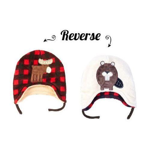 czapka zimowa łoś/bóbr rozmiar s marki Flapjack