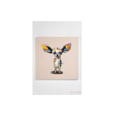 Kare Design Pop Art & Fun Chihuahua Standing 80x80cm Obraz (33052) (obraz)