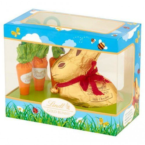 Zestaw słodyczy gold bunny carrot 140,5g marki Lindt