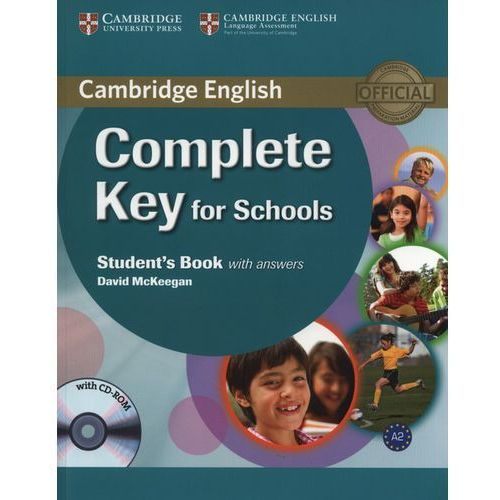 Complete Key for Schools Student's book with answers with CD-ROM, oprawa miękka
