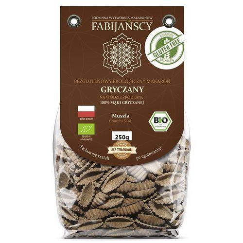 Fabijańscy (makarony) Makaron (gryczany) muszla gnocchi sardi bezglutenowy bio 250 g - fabijańscy (5902811253000)