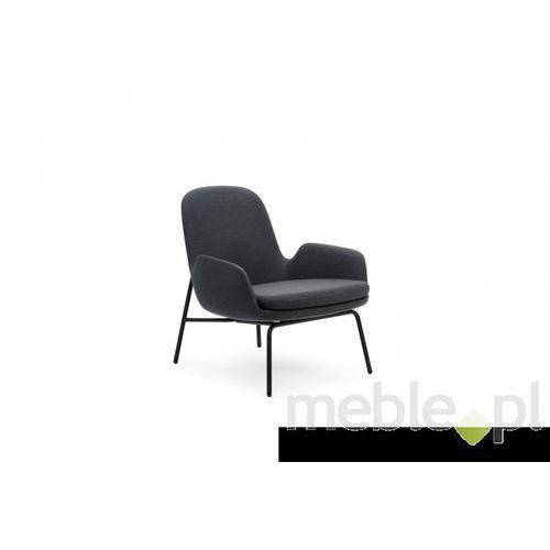 Fotel Era Stalowy z Niskim Oparciem gabriel-breeze fusion Normann Copenhagen 602841 - produkt dostępny w Meble.pl