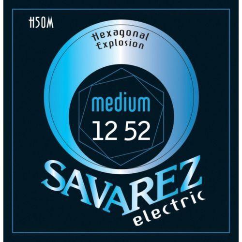 Savarez Medium (676567) Struny do gitary elektrycznej Hexagonal Explosion Nickel Medium.012-.052