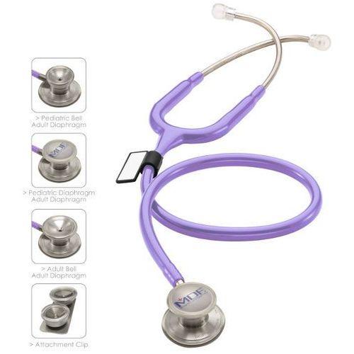 Mdf Stetoskop md one epoch 777dt z tytanu z głowicą 4w1 - pastelowa purpura
