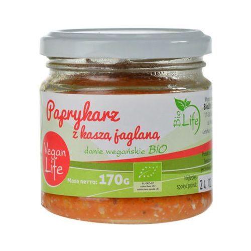 170g paprykarz z kaszą jaglaną bio marki Biolife