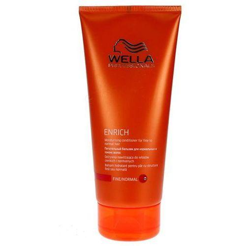 Wella Enrich odżywka nawilżająca do włosów cienkich i normalnych Moisturing Conditioner 200ml ze sklepu dr włos