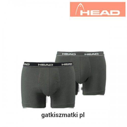 Bokserki męskie HEAD White Black Grey, kolor biały