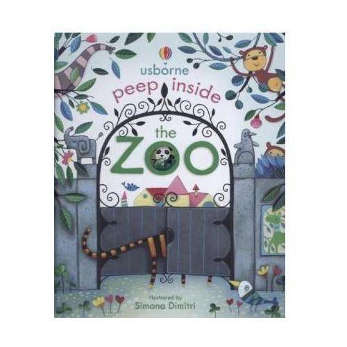 Peep Inside The Zoo (9781409549925)