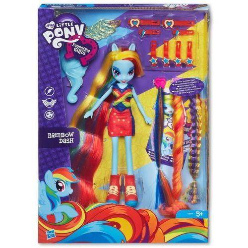 Hasbro Figurka  my little pony equestria girls rainbow dash długowłosa + darmowy transport! (5010994751098)