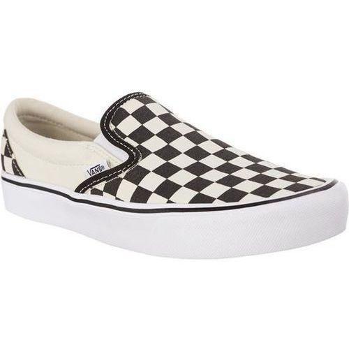 Vans classic slip on lite ib8 checkerboard black classic white - buty sneakersy