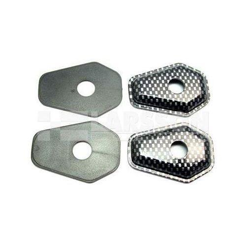 Zaślepka otworu kierunkowskazu komplet (4 szt.) karbon 1320387 suzuki gsf 1200, sv 650, gsx-r 600, gsf 600 marki Jm technics